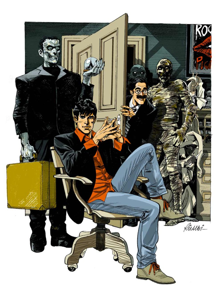 Roberto Rinaldi - Dylan Dog - Torino Comics - 2010