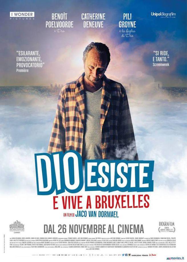 Dio esiste e vive a Bruxelles - Poster