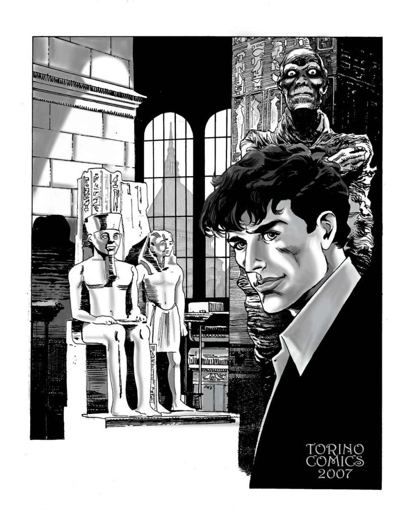 Roberto Rinaldi - Dylan Dog - Torino Comics - 2007