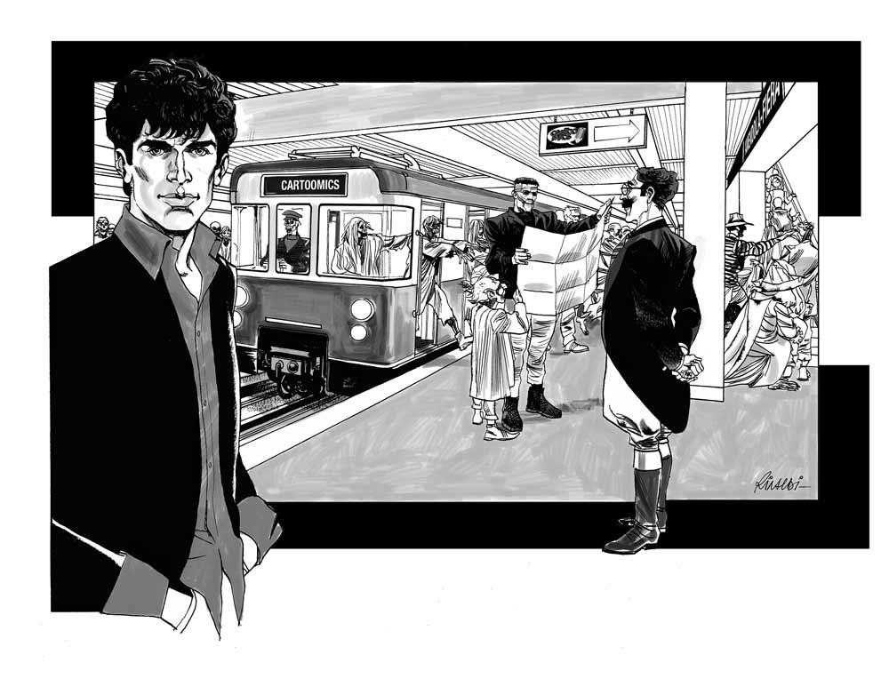 Roberto - Dylan Dog - Cartooncomics - 2009