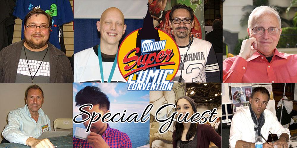 London Super Comic Con 2016: ecco gli ospiti