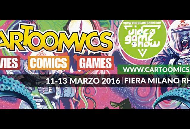 Milano Cartoomics 2016: resoconto video e fotogallery