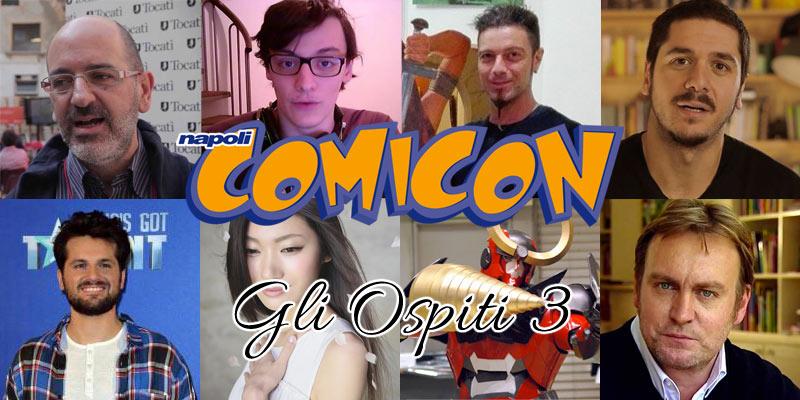 Napoli Comicon 2016: gli ospiti delle altre sezioni