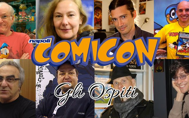 Napoli Comicon 2016: gli ospiti principali (parte 1)