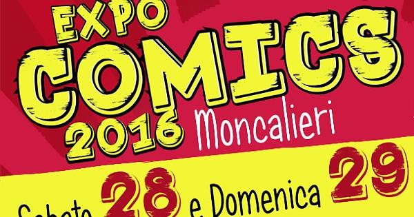 Expo Comics 2016: a Moncalieri il 28-29 maggio