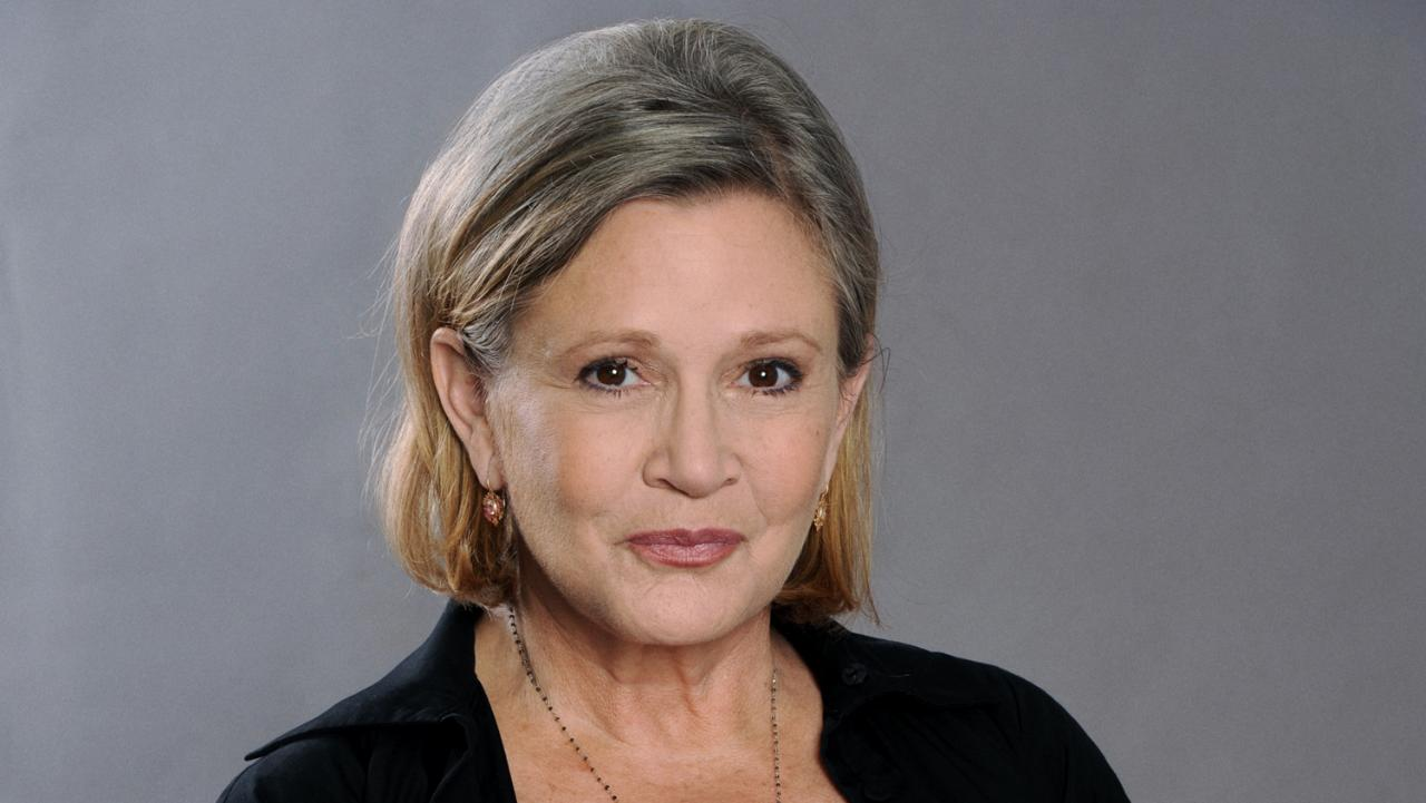 Carrie Fisher: morta la principessa Leila di Star Wars