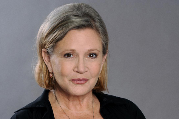 Carrie Fisher - Attrici morte nel 2016