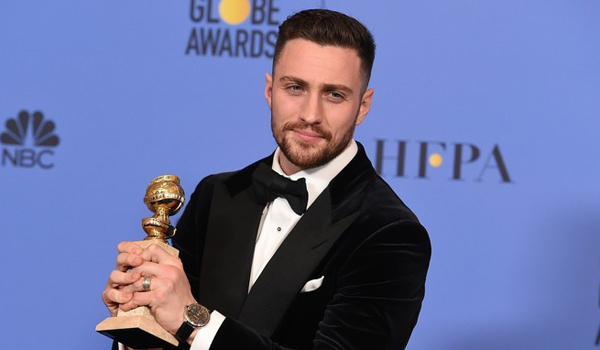 Aaron Taylor-Johnson - Golden Globe 2017