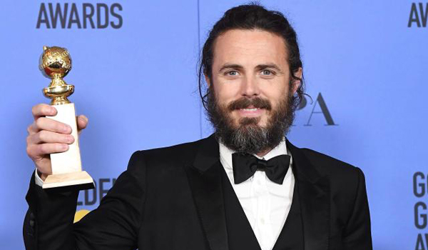 Casey Affleck - Golden Globe 2017