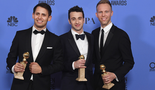 Justin Hurwitz Benj Pasek e Justin Paul - Golden Globe