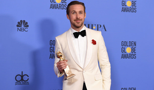 Ryan Gosling - Golden Globe 2017