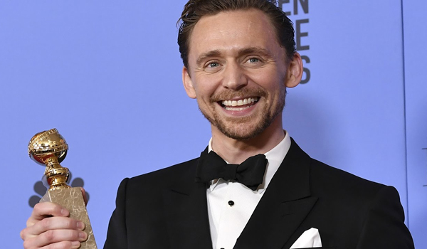 Tom Hiddleston - Golden Globe