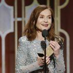 Isabelle Huppert - Golden Globe 2017