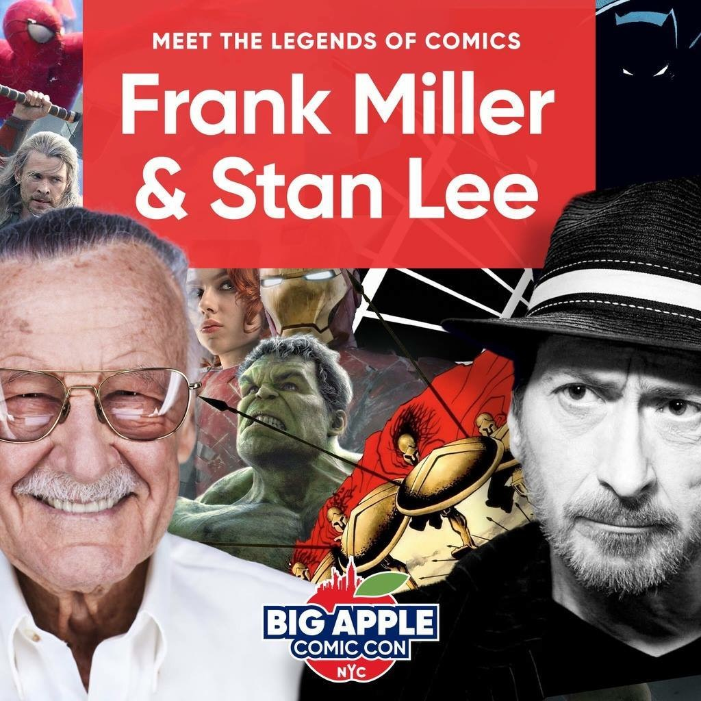 Stan and Frank Big Apple Con
