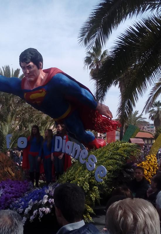 Carri fioriti - Superman