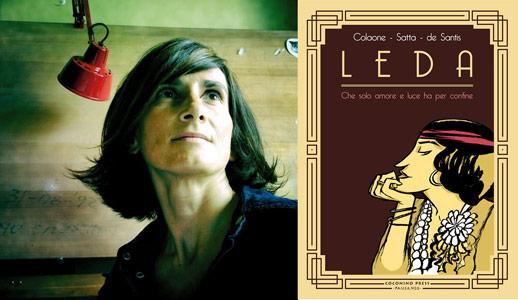 Sara Colaone autrice di Leda