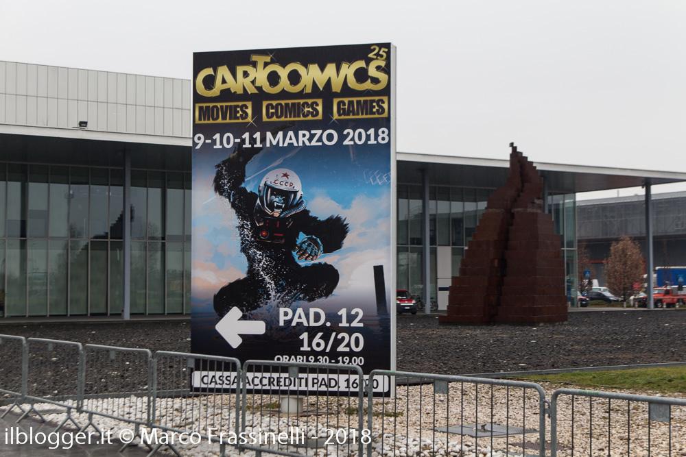 Milano Cartoomics 2018: reportage
