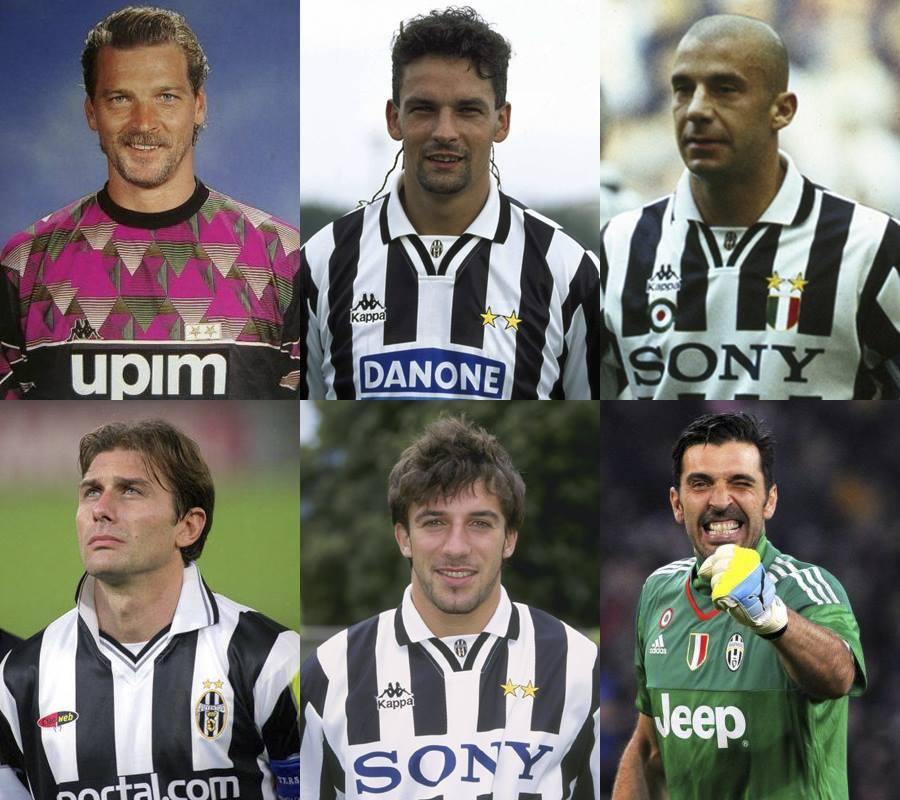 Tutti i capitani della Juventus (1): dal 1922 al 1974