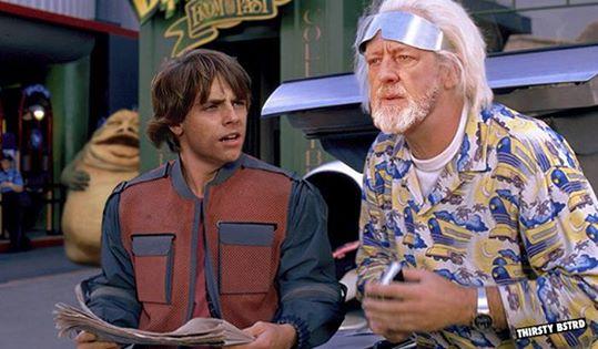 E se… Ritorno al futuro si unisse con Star Wars?