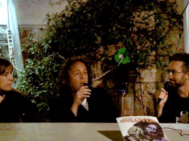 Intervista al fumettista Enzo Troiano e alla scrittrice Flora C. David