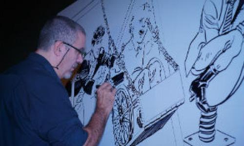 Intervista al fumettista Daniele Bigliardo