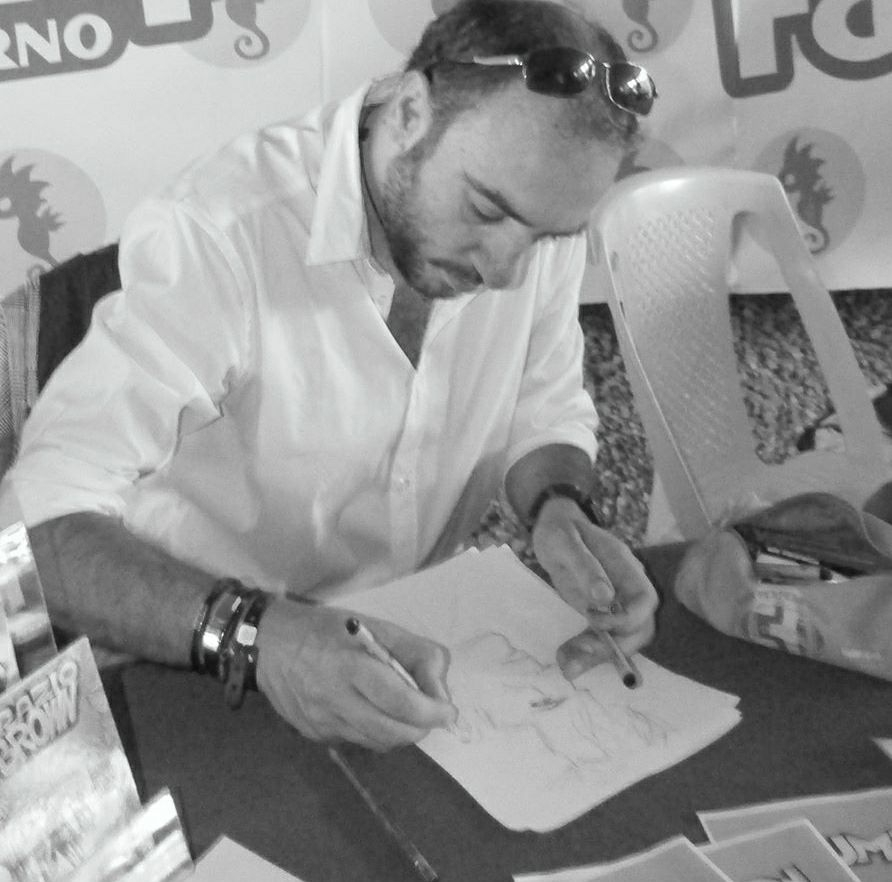 Luca Raimondo metre disegna